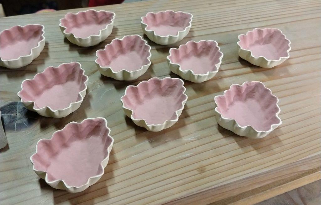 交趾菊葉小皿